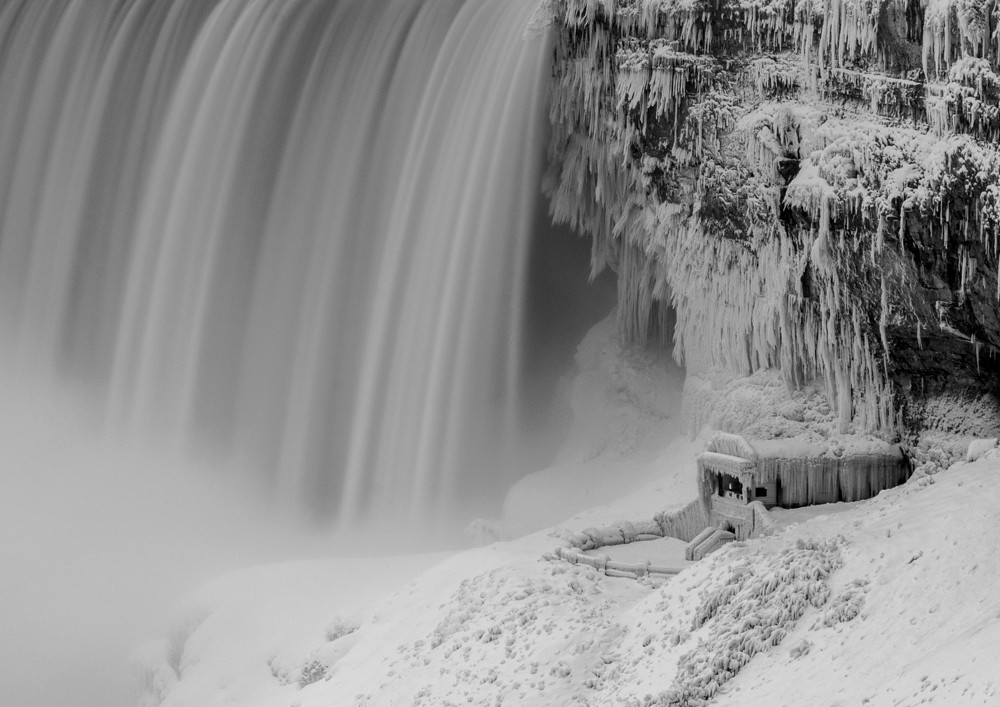 Frozen Solid Niagara Falls 2018 Niagara Falls Canad