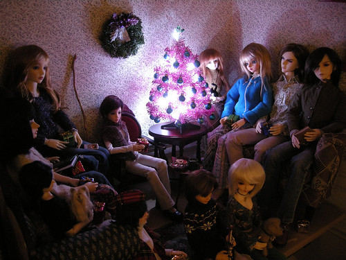 Most of these dolls have been packed in their boxes since 2011.  *sigh*