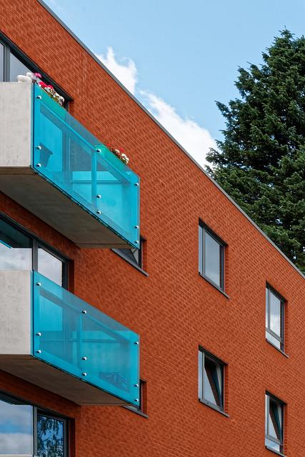 Nouveau bâtiment avenue Emile Rotiers, Auderghem