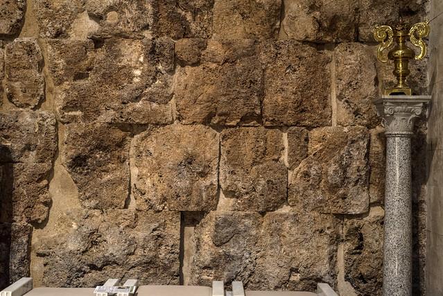 Sora, S. Maria Assunta, wall of Roman temple