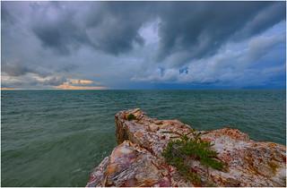Nightcliff Bay monsoon sunset.