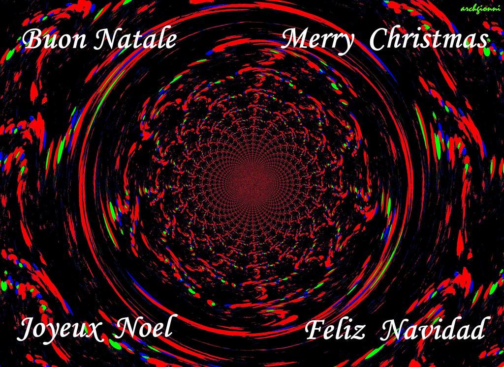 Buon Natale Tutti.Buon Natale A Tutti I Wish You All Dear Friends A Merry