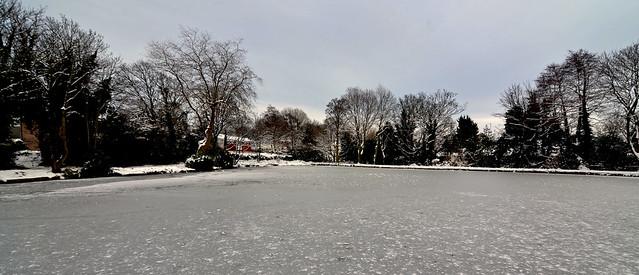 Winter in Birmingham.