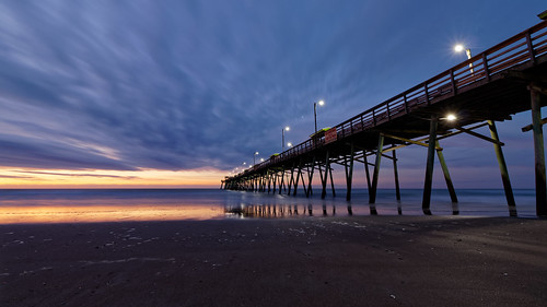 boguepier pier emeraldisle northcarolina sunrise seascape waterscape