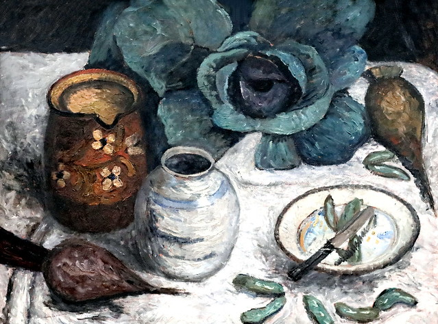 IMG_5403D Paula Modersohn-Becker. 1876-1907  Nature morte avec chou et des navets   Still life with cabbage and turnips  vers 1904 Dresde. Gemälde Galerie Neue Meister. Albertinum.