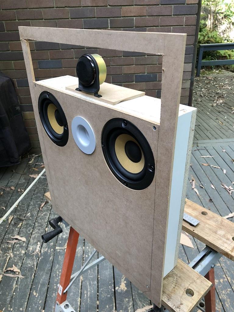 In-wall speaker build2