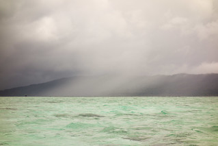 Tropical storm over Batanta.   by Laura Jacobsen