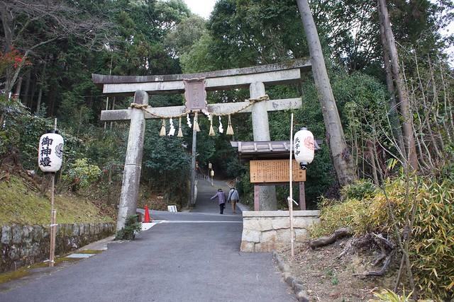 山科神社の鳥居