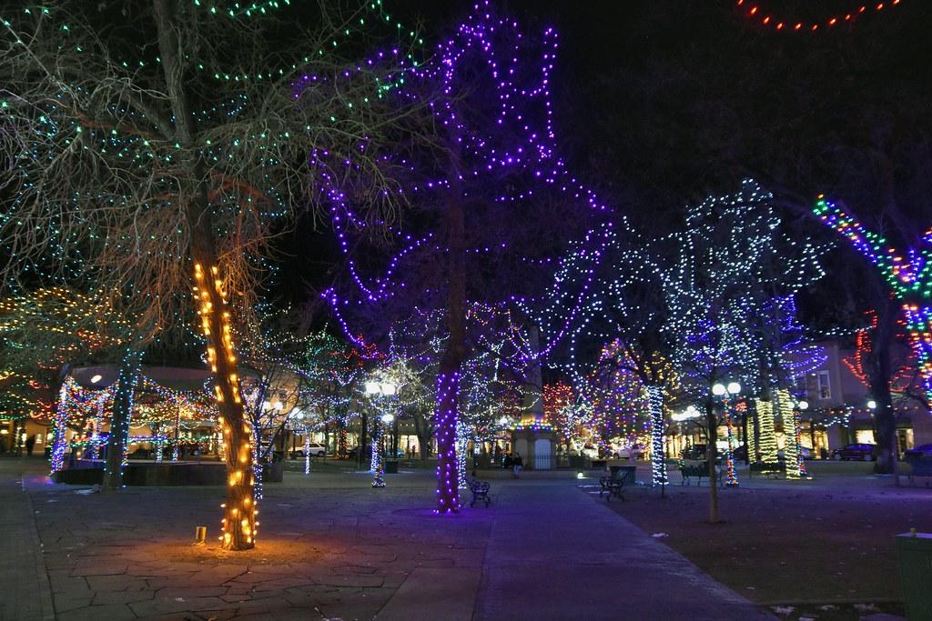 Santa Fe Christmas Santa Fe Plaza Santa Fe New Mexico Jpellgen 1179 Jp Flickr