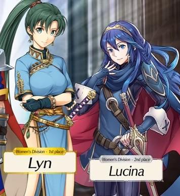 Lucina vs Lyn