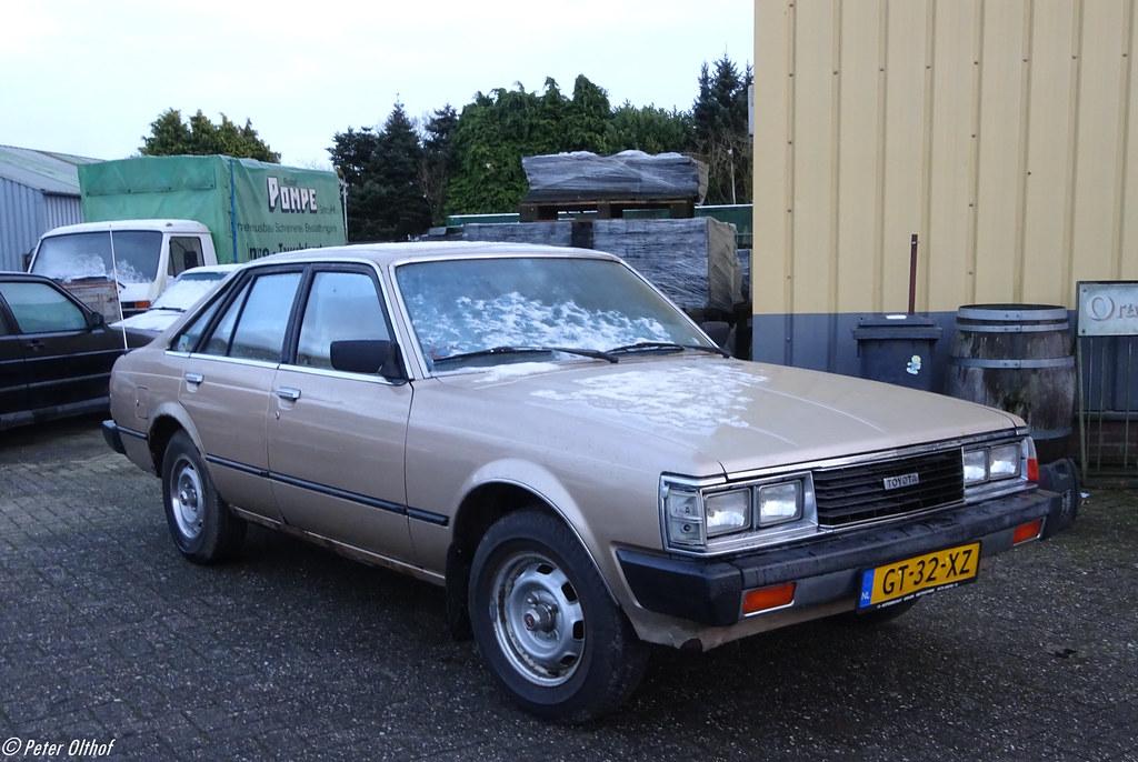 1981 Toyota Corona 1800 Gt Liftback Emmen Autobedrijf Rei Flickr