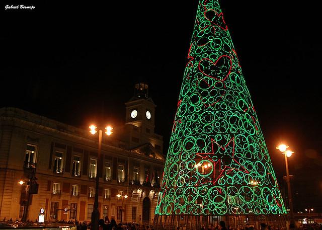 Navidad en la Puerta del Sol - Madrid