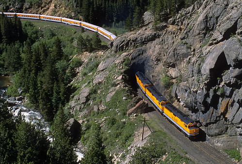 riograndeskitrain ansco passengertrain emd f40ph 242 tunnle29 pinecliffe colorado tunnel cliff skitrain railroad locomotive upmoffattunnelsub formerriogrande co bouldercreek