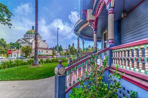 westadamsdistrict victorianarchitecture colorful california southerncalifornia architecture