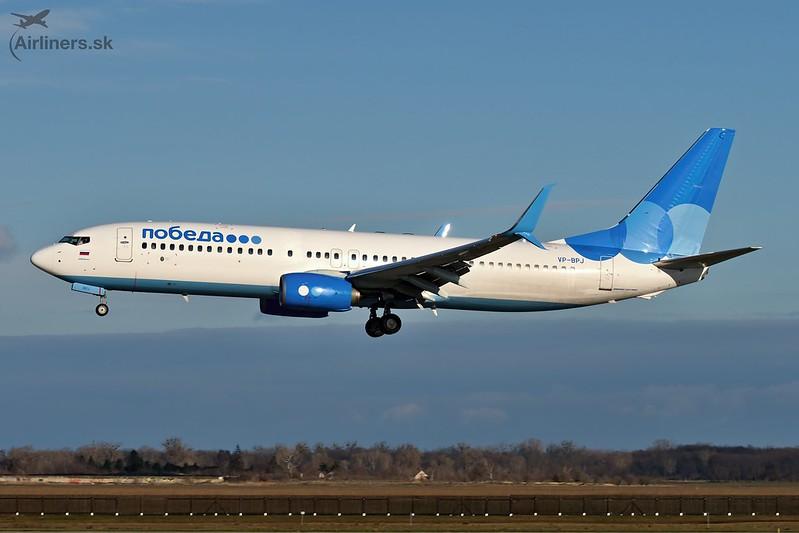 VP-BPJ Pobeda Boeing 737-8AL