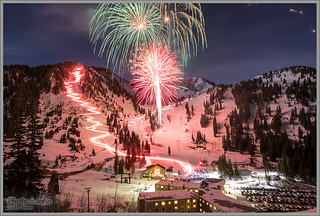 2017 New Year's Eve Celebration - Alta Ski Resort | by Photo-John