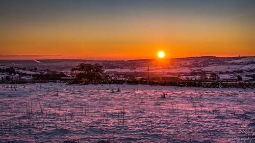 flickr sunrise wilsden westyorkshire snow dawn morning yorkshire cold sun