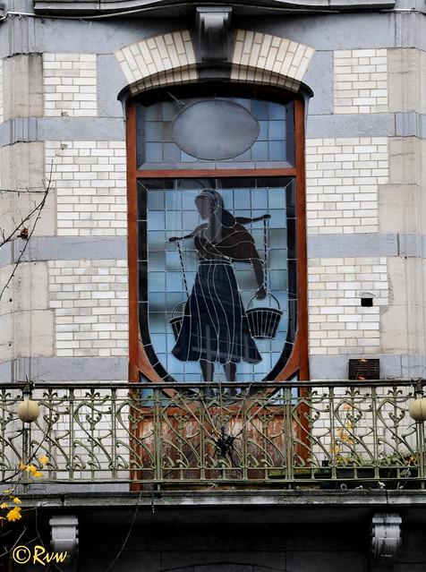 Brussels Saint-Gilles - Rue Vandeschrick 25 (coin Avenue Jean Volders) (explore 10/12/2017)