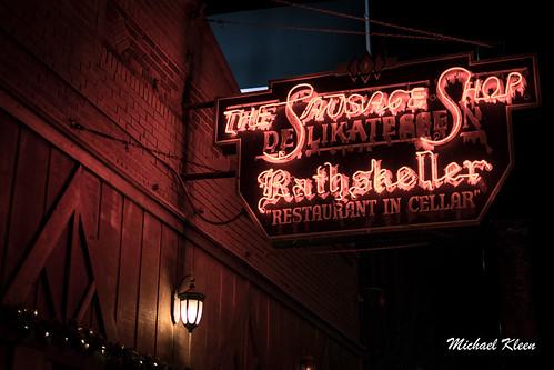 Der Rathskeller Neon Sign