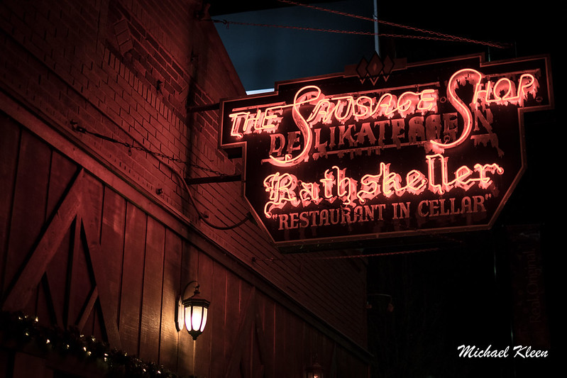 Der Rathskeller Neon Sign