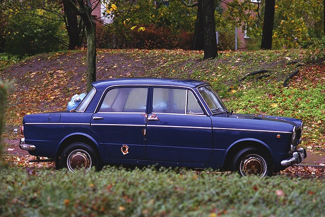 Abandoned Cars - Fiat 1100