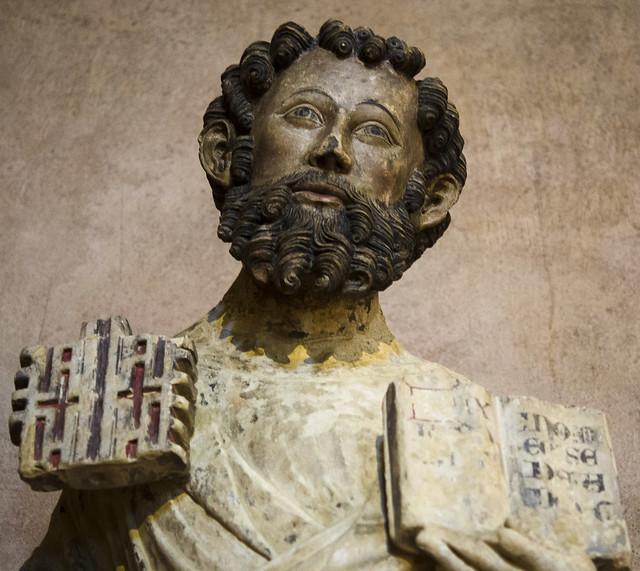 Saint Peter (1333-1344). Maître de Rieux. Prov. : Chapelle de Jean Tissandier at the Greyfriars church of Toulouse. Toulouse, Musée des Augustins.