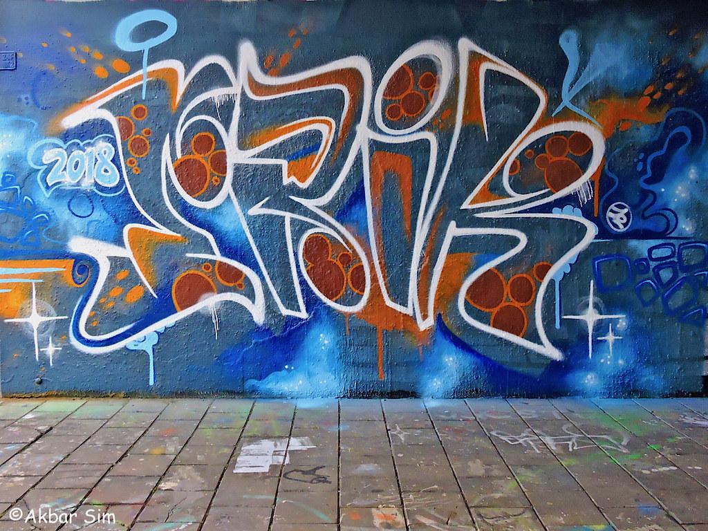Den haag graffiti erik by akbar sim