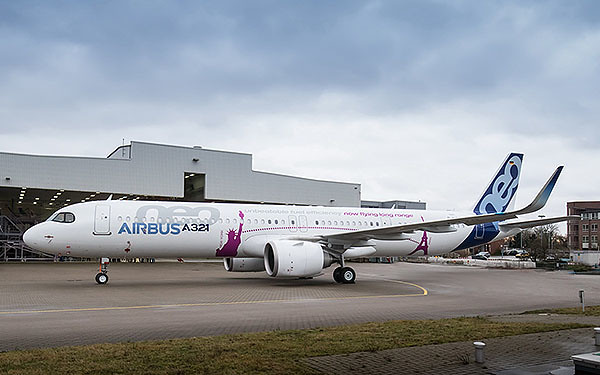 Airbus A321neo-ACF-Roll-Out- (Airbus)