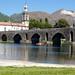 Ponte Medieval Sobre o Rio Lima