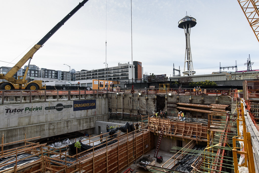Completing the north end of the SR 99 tunnel