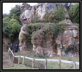 Creswell Crags. Pin hole Cave