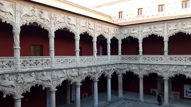 Guadalajara, the courtyard of Infantado Palace [Explore 19/12/2017]