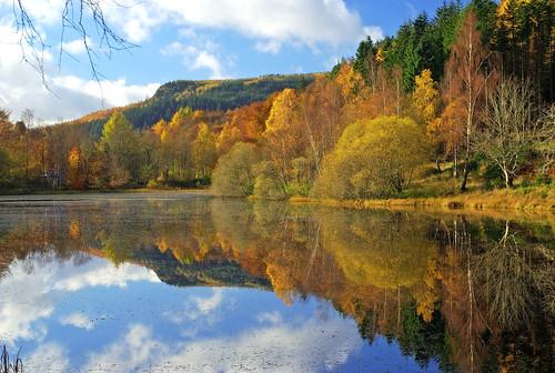eric robb niven scotland perthshire polney loch