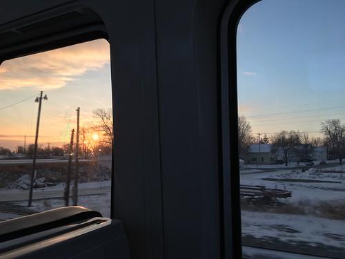 amtrak train ohio