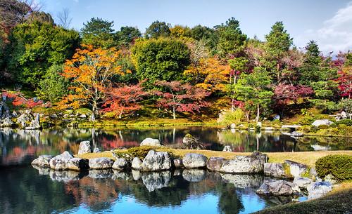 Tenryuji Garden - Arashiyama, Japan