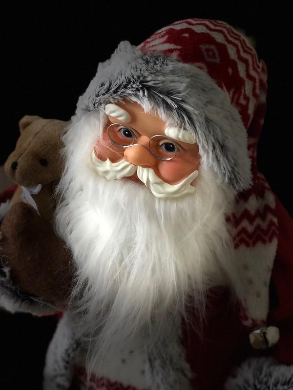 Santa is watching