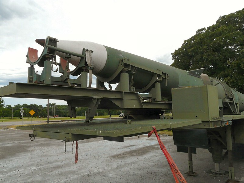 Pershing II Erector Launcher 8