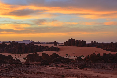sáhara chad ennedi desierto desert amanecer sunrise
