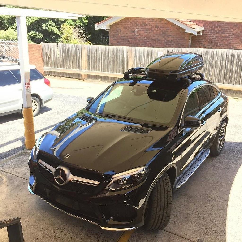 Mercedes Gle Coupe W Black Thule Wingbar Edges Thule Mot Flickr
