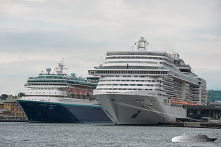 Monarch & MSC Fantasia | by Aviation & Maritime