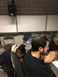 Meanwhile in The Hague: listening, editing, mixing and re-listening... | by Aurélie Nyirabikali Lierman