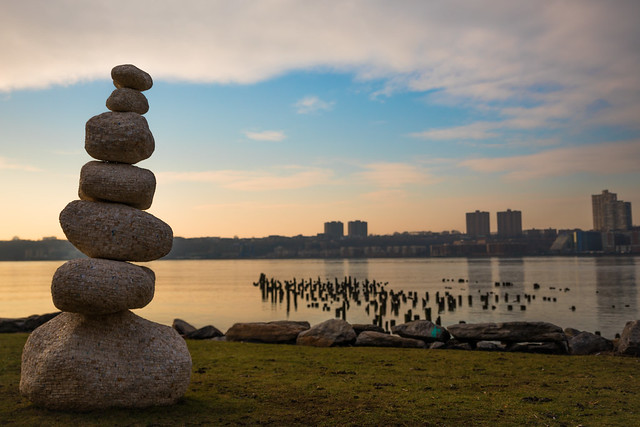 Cairns Along the Hudson