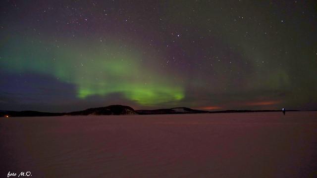 Aurora boreale Finlandia.