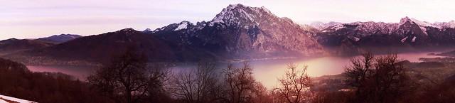 Traunsee and Traunstein, Upper Austria