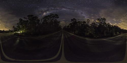 panorama cloud dam 360 galaxy astrophotography perth astronomy westernaustralia canning milkyway equirectangular mcnessdrive