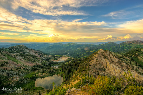 summer sky lake mountains clouds landscape utah scenery wasatch brighton scenic saltlake summit alta bigcottonwood lakecatherine lakemary littlecottonwood sunsetpeak lakemartha catherinespass jamesudall