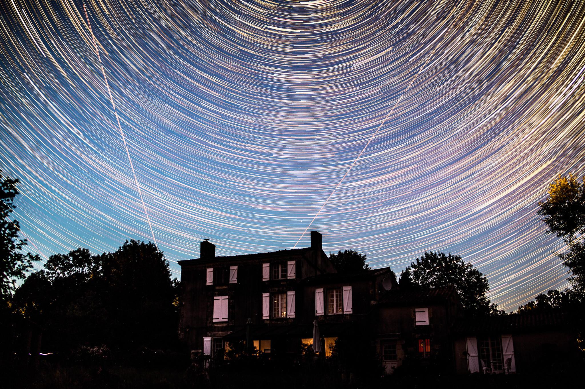 La Godinière Star Trails