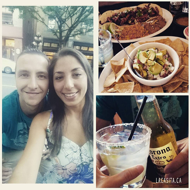 Date night at La Casita Gastown in Vancouver BC