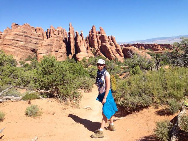 sur le Primitive Trail