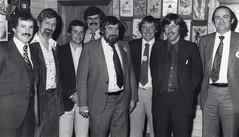 David Kitching, Dave Cookson, Bruce Greenlees, Peter Hatcher, Ian Dawe, John Palamountain, David Perry and Bob Clinch